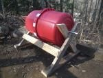 large red composter