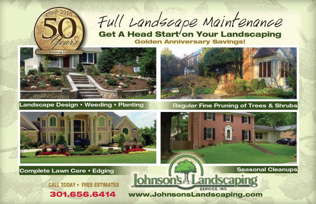 Johnson's Landscaping services