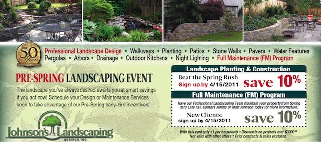 landscaping event
