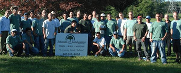 Johnson's Landscaping Team