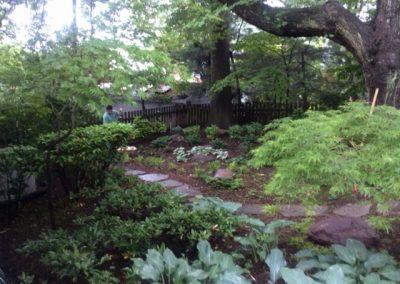 Planting & Walkway