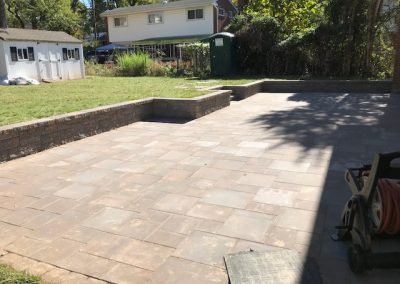 Segmental Wall & Paver Patio