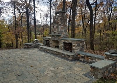 Outdoor Fireplace 2019